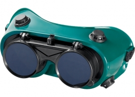 Очки газосварщика с откидными стеклами Matrix