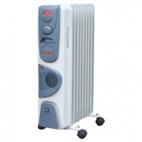 Радиатор масляный с тепловентилятором Ресанта ОМ-7НВ