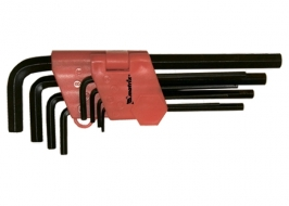 Набор ключей имбусовых HEX, 1.5-10×9 шт, удлиненные Matrix