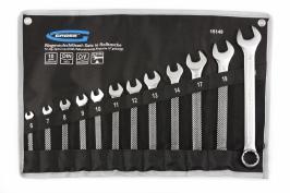 Набор ключей комбинированных 6-22 мм, 12 шт., CrV, холодный штамп Gross