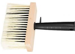 Кисть-макловица, 140 х 52 мм, искусственная щетина, деревянный корпус, пластмассовая ручка Matrix