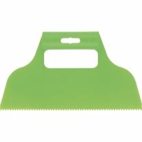 Шпатель для клея, пластмассовый, зубчатый 2х2 мм СибрТех