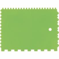 Шпатель для клея, пластмассовый, 130х170 мм, зубчатый СибрТех