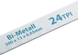 Полотна для ножовки по металлу, 300 мм, 24TPI, BIM, 2 шт. Gross