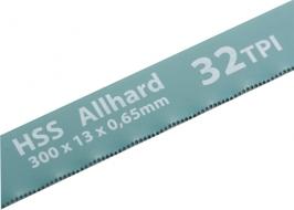 Полотна для ножовки по металлу, 300 мм, 32TPI, HSS, 2 шт. Gross