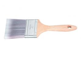 Кисть плоская Platinum 3″, искусственная щетина, деревянная ручка / Matrix