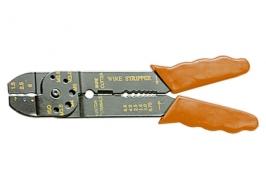 Щипцы, 210 мм, для зачистки электропроводов и обжима контактных клемм, 1,5–6,5 мм Sparta