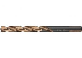 Сверло спиральное по металлу 2.5 x 57мм, Р9М3, многогранная заточка, 2 шт. Барс