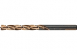 Сверло спиральное по металлу 8.5 x 117мм, Р9М3, многогранная заточка Барс