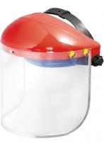Щиток защитный, 400х200 мм, пластик, защита для лица, разборный корпус Matrix