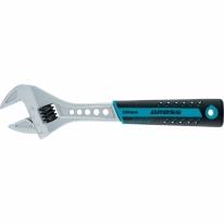 Ключ разводной, 200 мм,CrV, двухкомпонентная ручка //GROSS