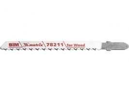 Полотна для электролобзика по дереву, 3 шт. T101BF, 75 x 2,5мм, Bimetal Matrix Professional