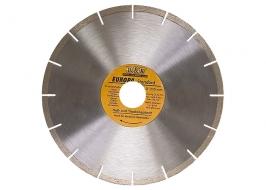 Диск алмазный отрезной сегментный, 125 х 22,2 мм, сухая резка, EUROPA Standard Sparta