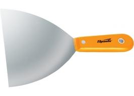 Шпательная лопатка стальная, 63 мм, полированная, пластмассовая ручка Sparta