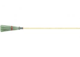 Метла полипропиленовая универсальная, 190×380 мм, круглая, с черенком СибрТех
