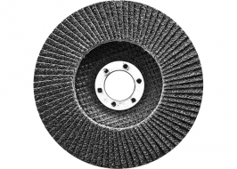 Круг лепестковый торцевой, конический, Р 80, 150 х 22,2 мм СибрТех