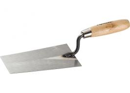 Кельма каменщика стальная, 160 мм, деревянная ручка Sparta