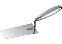 Кельма из нерж. стали, 160 х 84 мм, деревянная ручка Matrix