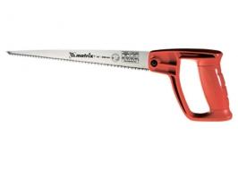 Ножовка по дереву для мелких пильных работ, 320 мм, цельнолитая одноком. рук. Matrix