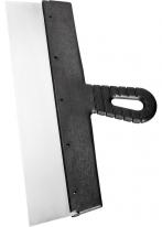 Шпатель фасадный из нержавеющей стали, 450 мм, пластмассовая ручка СибрТех