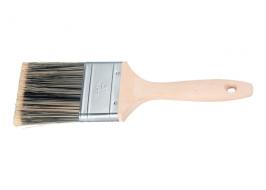 Кисть плоская Golden 3″, искусственная щетина, деревянная ручка / Matrix