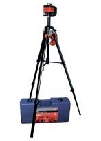 Уровень лазерный, 100 мм, штатив 1300 мм, крут. голова ротац., наб. в пласт. кейсе MATRIX MASTER