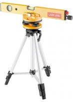Уровень лазерный, 400 мм, 1050 мм штатив 3 глазка, набор (база, 2 линзы) в пласт. боксе MATRIX