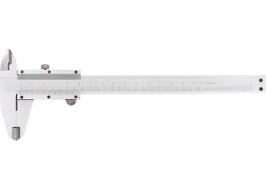 Штангенциркуль, 300 мм, цена деления 0,02 мм, металлический, с глубиномером Matrix