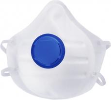Полумаска фильтрующая (респиратор), формованная, с клапаном выдоха, FFP1 NR, 10 шт. СибрТех
