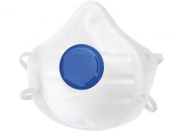 Полумаска фильтрующая (респиратор), формованная с клапаном выдоха, FFP1 NR СибрТех