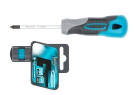 Отвертка PZ1, 75 мм, S2, трехкомпонентная ручка Gross