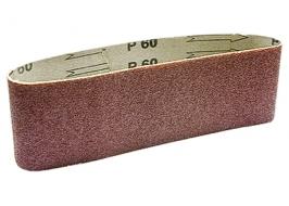 Лента абразивная бесконечная, P 100, 75 х 457 мм, 3 шт. Matrix