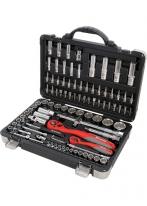 Набор инструмента 1/4, 1/2, CrV, S2, усиленный кейс, 94 предмета Matrix Professional