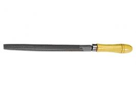 Напильник 250 мм, полукруглый, деревянная ручка СибрТех