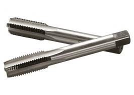 Метчик ручной М6 х 1,0 мм, комплект из 2 шт. СибрТех