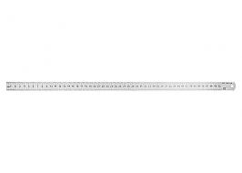Линейка измерительная, 150 мм, металлическая Россия