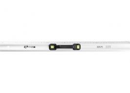 Линейка-уровень, 1000 мм, металлическая, пластмассовая ручка два глазка Matrix Master