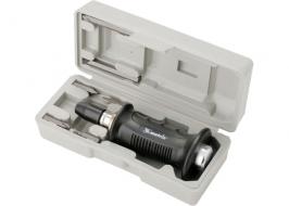 Отвертка ударно-поворотная 1/2, набор бит, 6 шт, черная ручка ПРОФИ, в пластиковом боксе Matrix
