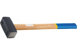 Кувалда 8000 г, кованая головка, деревянная рукоятка СибрТех
