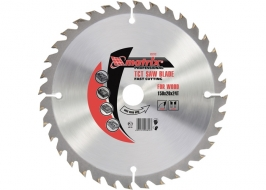 Пильный диск по дереву, 255 х 32мм, 96 зубьев + кольцо 30/32 Matrix Professional