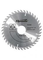 Пильный диск по дереву, 230 х 22мм, 40 зубьев Sparta