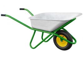 Тачка садово-строительная, усиленная, грузоподъемность 200 кг, объем 90 л Palisad
