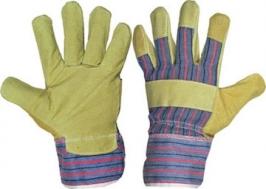 Перчатки спилковые комбинированные Россия