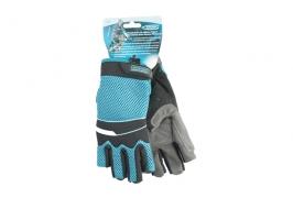 Перчатки комбинированные облегченные, открытые пальцы, XL Gross