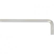 Ключ имбусовый HEX, 9мм, 45x, закаленный, никель Сибртех