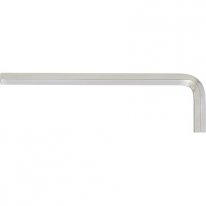 Ключ имбусовый HEX, 10мм, 45x, закаленный, никель Сибртех