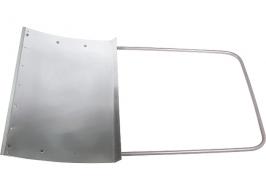 Движок для снега 750 х 500 (алюминий) СИБРТЕХ