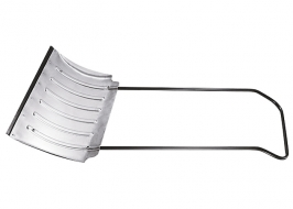 Движок для снега 750x420x8 мм, алюминиевый усиленный СибрТех