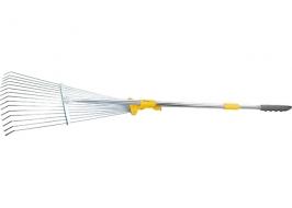 Веерные грабли телескопические, раздвижные Palisad Luxe