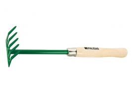 Грабли 5 зубьев, 90 мм, деревянная рукоятка 340 мм Palisad